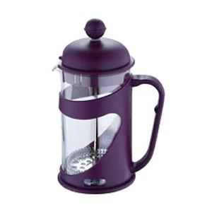 Konvička na čaj a kávu French Press 800 ml fialová