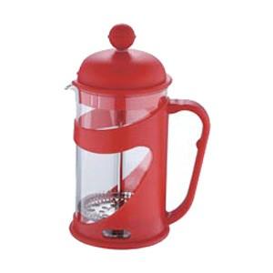 Konvička na čaj a kávu French Press 350 ml červená
