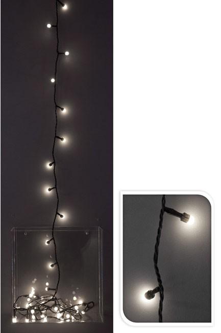 Světelný řetěz venkovní, 240 LED, bílá barva