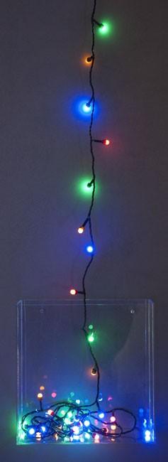 Světelný řetěz venkovní, 240 LED, barevný
