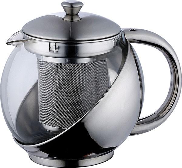 Konvice na čaj nerez 1,1 l