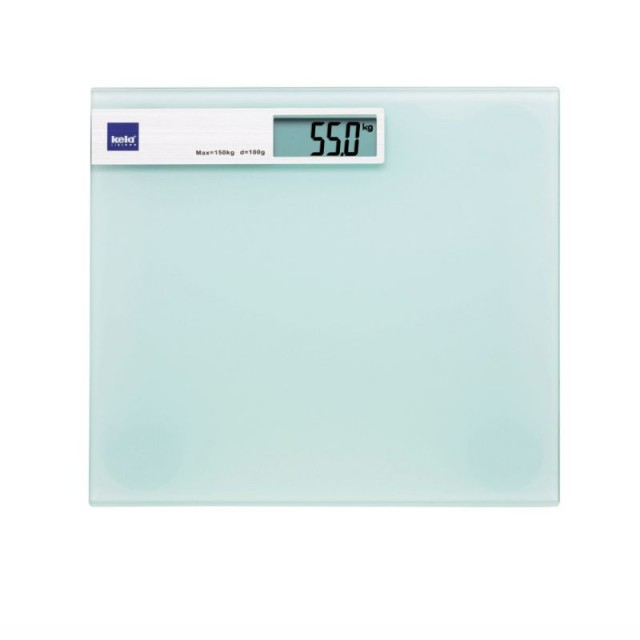 Osobní váha digitální LINDA, skleněná bílá do 150kg