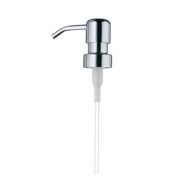 Náhradní pumpička na tekuté mýdlo PAL, nerez lesklý
