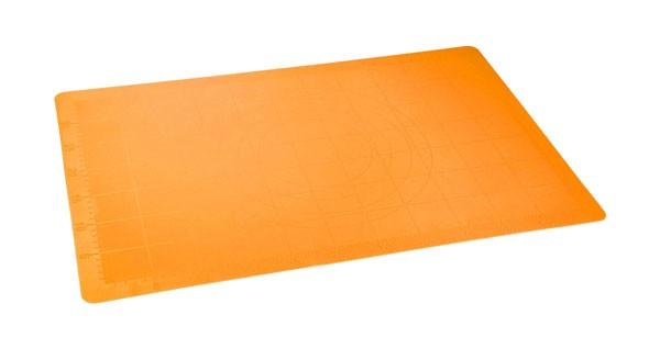 Vál pečící silikonový 60 x 40 cm, oranžová