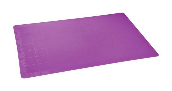 Vál pečící silikonový 60 x 40 cm, fialová