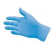 Rukavice jednorázové nitrilové S, 100 ks, modré