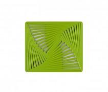 Protiskluzná podložka pod nádobí METRICO zelená 24,5x28cm