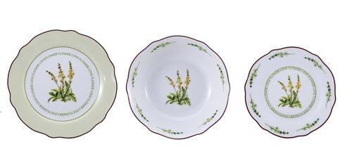Jídelní sada talířů 18 ks