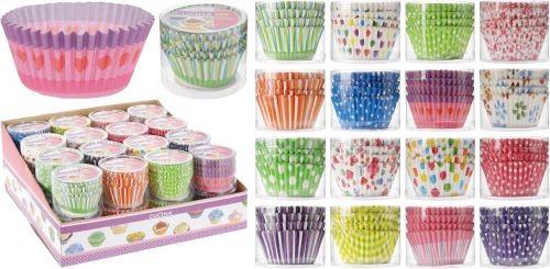 Papírové košíčky na muffiny 80 ks