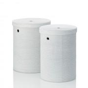 Sada prádelních košů RIMOSSA PP plastic, bílá