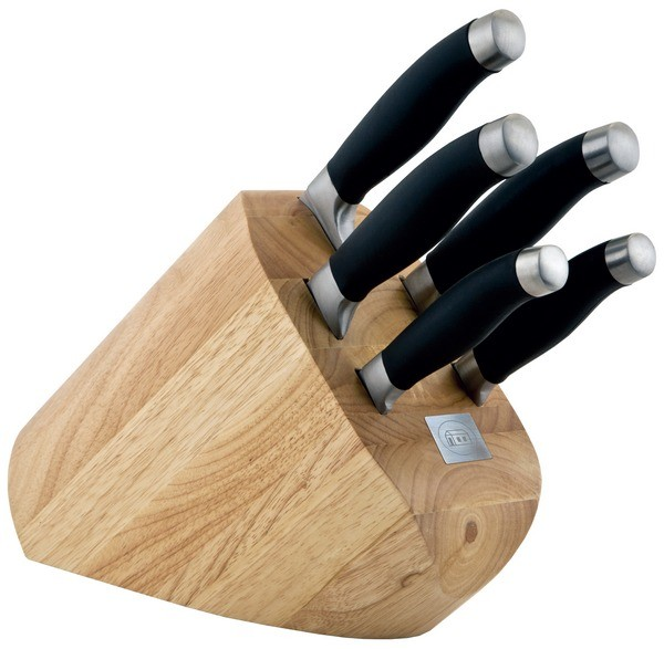 Sada nožů v bloku 6 ks SHIKOKU NEW