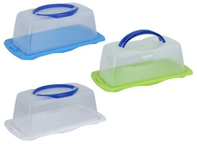 Box plastový na potraviny snadné přenášení
