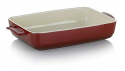Zapékací mísa MALIN 22 x 37,5 cm červená