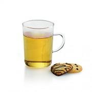 Skleněný šálek na čaj CADRO 200 ml, 4 ks