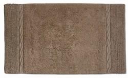 Koupelnová předložka LANDORA 70x120 cm čokoládová