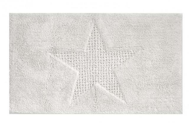 Koupelnová předložka LINDANO 70x120 cm bílá