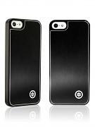 Kryt / obal s broušeným hliníkem pro iPhone 5 černá