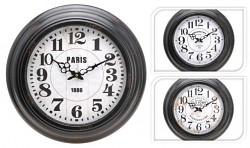 Nastěnné hodiny kovové 43cm