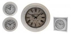 Nastěnné hodiny kovové 43x5cm