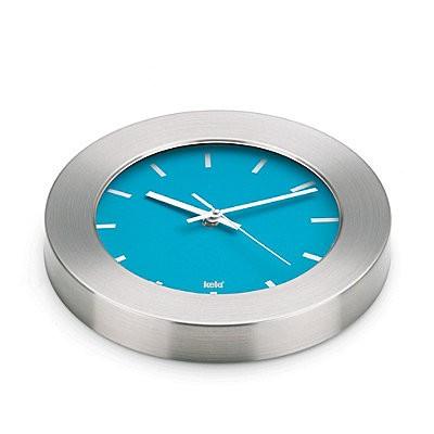 Kela nástěnné hodiny LUANDA modré