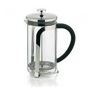 Konvička na čaj a kávu French Press 1,1 L, nerez