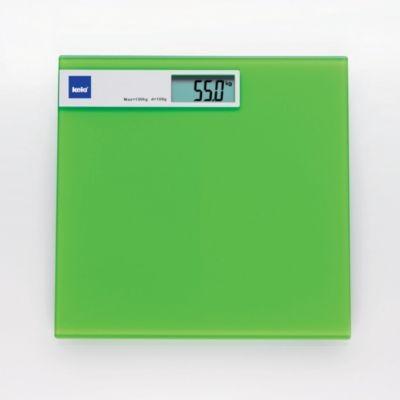 Osobní digitální váha, zelená barva