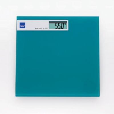Osobní digitální váha, barva modrá