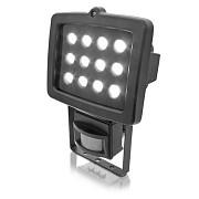 LED reflektor 12 POWER LED s pohybovým čidlem